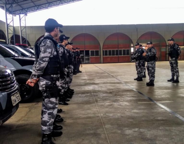 ad334f1cb6 20 Policiais Militares mobilizados durante crise no Ceará