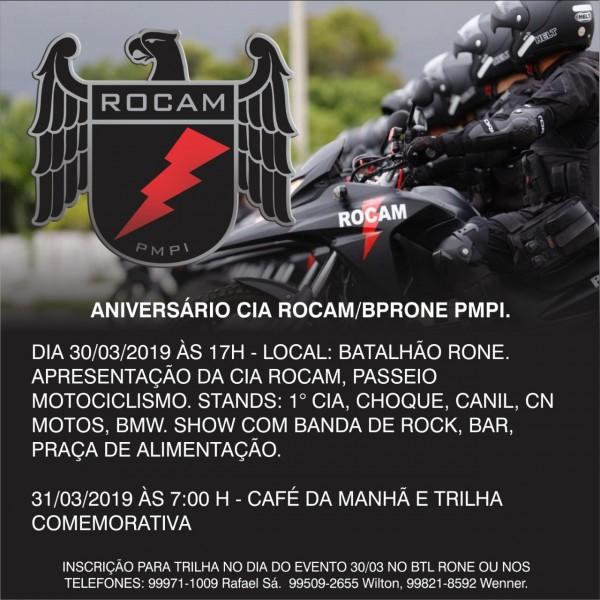 ROCAM comemora aniversário de 1 ano de implantação em 2019 263a32e15f6